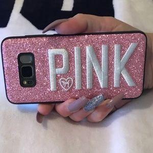 Pink Victoria Secret 3D Samsung Galaxy S8/S9 Case